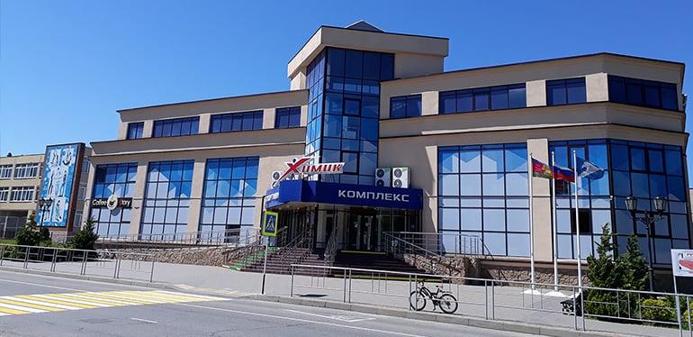 Резервная арена профессионального баскетбольного клуба «Локомотив-Кубань»