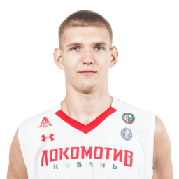 Кирилл Попов, центровой команды «Локомотив-Кубань-ЦОП»
