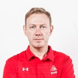 Евгений Сафонов, главный тренер команды «Локомотив-Кубань» 2001 г.р.