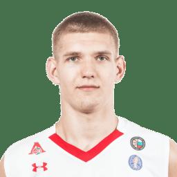 Кирилл Попов, центровой «Локомотива-Кубань-ЦОП»