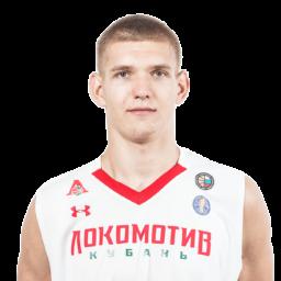 Кирилл Попов, центровой команды «Локомотив-Кубань-2»